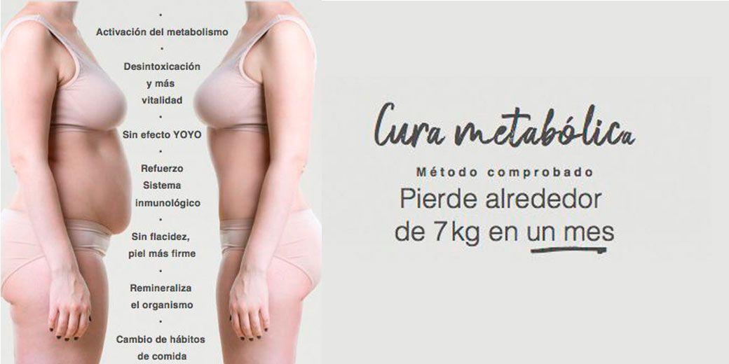 Cura metabólica para perder peso