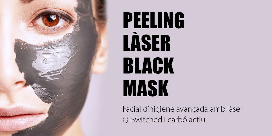 Peeling Làser Black Mask