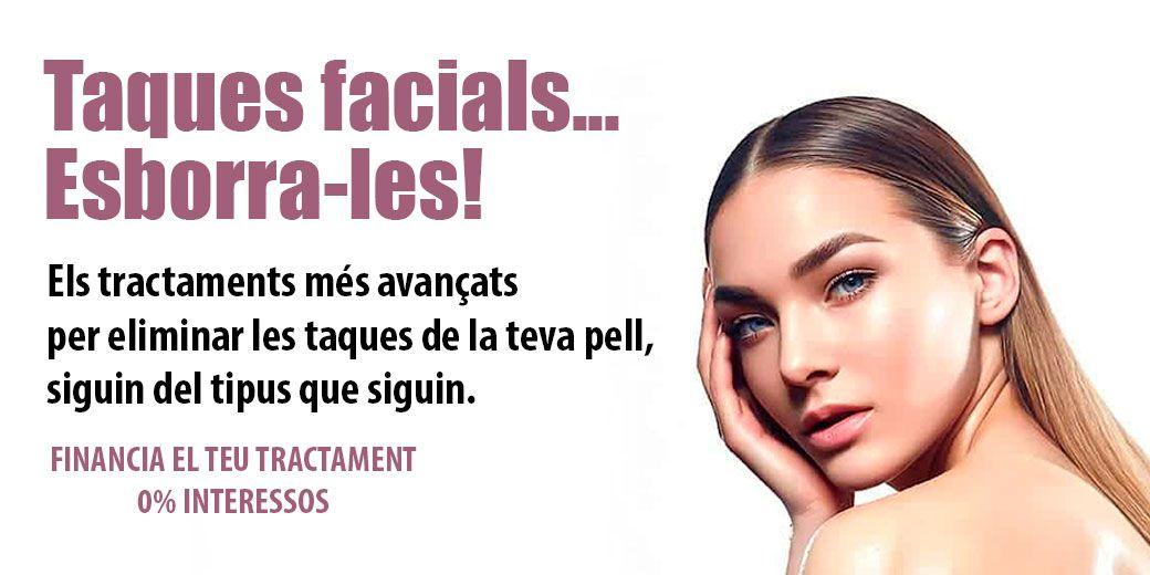 Elimina les taques facials