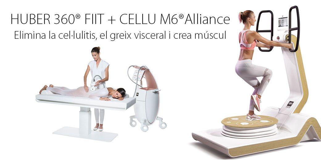 Elimina cel·lulitis, greix visceral i crea múscul
