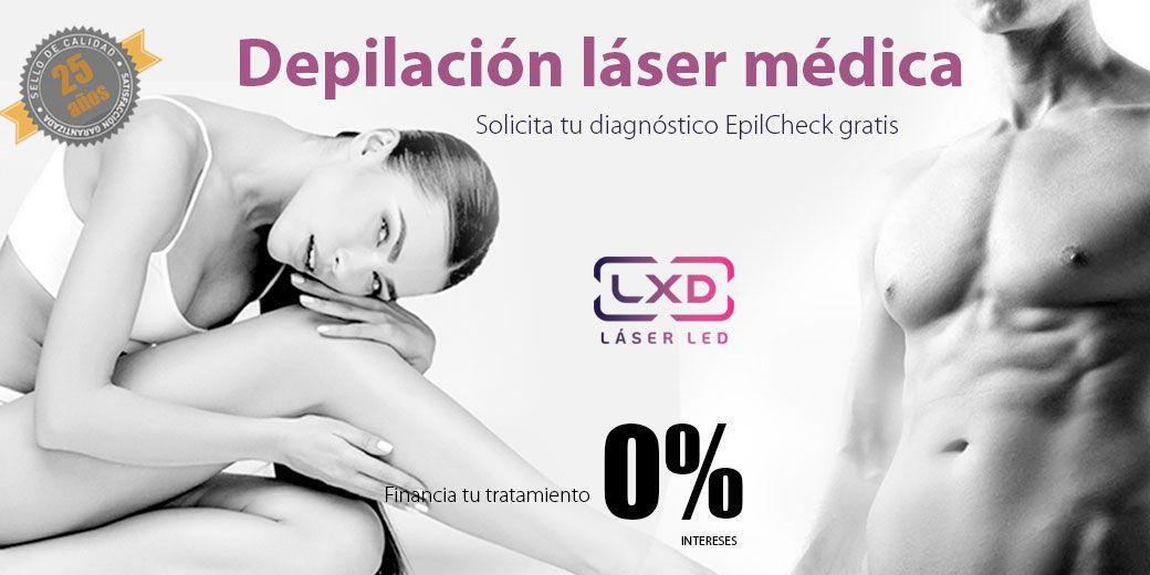 Depilación láser médica en Igualada