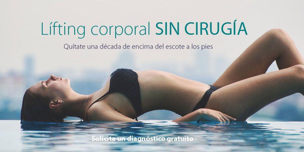Lífting corporal sin cirugía