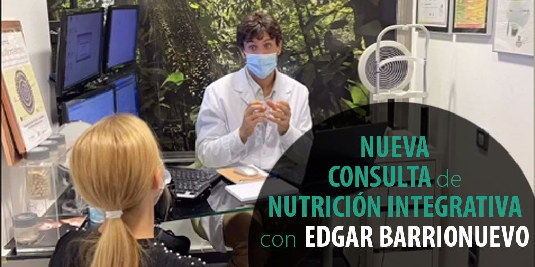 Consulta de nutrición integrativa con Edgar Barrionuevo